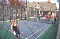 Chicago Charities – Women's Quarter-Final – Curtis/Jaffe vs Cruz/Warner & Hanisch/Van Starrenburg vs Berendt/Enica
