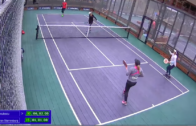 Women's Semi-Final – Hanisch/van Starrenburg vs. Cruz/Niculescu